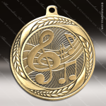 Medallion Laurel Wreath Series Music Note Medal Music Medals