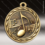 Medallion Sculpted Series Music Medal Music Medals