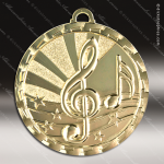 Medallion Brite Gold Series Music Medal Music Medals