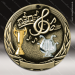 Medallion Tri-Colored Series Music Medal Music Medals
