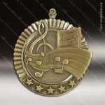 Medallion Five Star Series Music Medal Music Medals