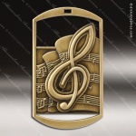Medallion Dog Tag Series Music Medal Music Medals