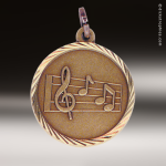 Medallion Sunray Series Music Medal Music Medals