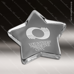 Crystal Star Paper Weight Trophy Award Paperweight Crystal Awards