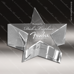 Crystal  Star Paperweight Trophy Award Paperweight Crystal Awards