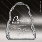 Crystal  Ice Flow Trophy Award PDU CAT Crystal Trophy Awards