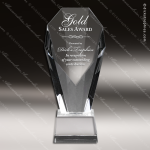 Crystal  Fan Pillar Trophy Award PDU CAT Crystal Trophy Awards