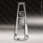 Crystal  Obelisk Trophy Award PDU CAT Crystal Trophy Awards