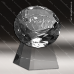 Crystal  Clear Diamond Tower Trophy Award PDU CAT Crystal Trophy Awards