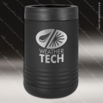 Double Wall Insulated Beverage Holder -Black Personalized Black Drinkware Engraved