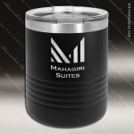 Ringneck Double Wall Insulated Tumbler -Black Personalized Black Drinkware Engraved