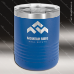 Ringneck Double Wall Insulated Tumbler -Royal Blue Personalized Blue Drinkware Engraved
