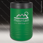 Double Wall Insulated Beverage Holder -Green Personalized Green Drinkware Engraved