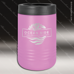 Double Wall Insulated Beverage Holder -Light Purple Personalized Light Purple Drinkware Engraved