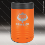 Double Wall Insulated Beverage Holder -Orange Personalized Orange Drinkware Engraved
