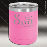 Ringneck Double Wall Insulated Tumbler -Pink Personalized Pink Drinkware Engraved