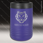Double Wall Insulated Beverage Holder -Purple Personalized Purple Drinkware Engraved