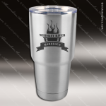 Engraved Stainless Steel 30 Oz. Mug Polar Tumbler Silver Laser Etched Gift Personalized Stainless Steal Drinkware Engraved