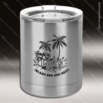 Engraved Stainless Steel 10 Oz. Insulated Polar Camel Tumbler Silver Personalized Stainless Steal Drinkware Engraved