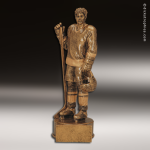 Premium Resin Gold Sports Champion Hockey Male Trophy Award Premium Gold Resin Trophies