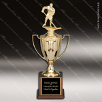 Cup Trophy Premium Gold Series Loving Cup with Figure Award Premium Gold Series Cup Trophy Awards