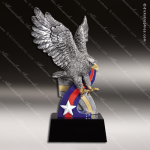 Kids Resin Hand Painted Color American Eagle Trophy Award Premium Hand Painted Trophy Awards