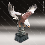 Kids Resin Hand Painted Eagle Trophy Award Premium Hand Painted Trophy Awards
