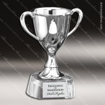Cup Trophy Premium Silver Series Crystal Base Loving Cup Award Premium Silver Series Cup Trophy Awards