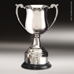 Cup Trophy Premium Silver Series Golf Club Georgian Nickel Plated Cup - CHE Premium Silver Series Cup Trophy Awards
