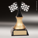 Kids Resin Sport Series Racing Trophy Awards Racing Pinewood Derby Trophy Awards