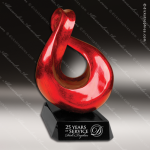 Jinshi City Twine Red Accented Artisitc Awards