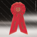 Rosette Award Ribbons Red 2nd Place Rosette Award Ribbons