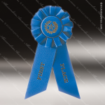 Rosette Award Ribbons Blue 1st Place Rosette Award Ribbons