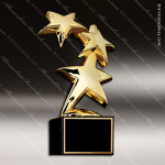 Traditional Gold Constellation Star Trophy Award Sales Trophy Awards