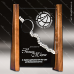 Acrylic Wood Accented Summit Trophy Award Sales Trophy Awards