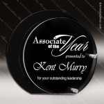 Acrylic Black Accented Floating Circle Trophy Award Sales Trophy Awards