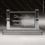Crystal  Horizontal Rectangle Trophy Award Sales Trophy Awards