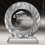 Crystal  Plate With Stand Trophy Award Sales Trophy Awards