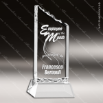 Acrylic  Clear Summit Award Sales Trophy Awards