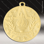 Medallion Superstar Series Achievement Torch Participant Medal School Scholastic Medals