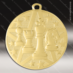 Medallion Superstar Series Chess Medal School Scholastic Medals