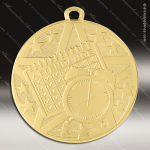 Medallion Superstar Series Perfect Attendance Medal School Scholastic Medals