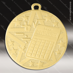 Medallion Superstar Series Scholastic Math Medal School Scholastic Medals
