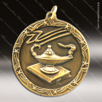 Medallion Shooting Star Series Scholastic Lamp of Knowledge Medal School Scholastic Medals