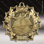 Medallion Ten Star Series Scholastic Reading Medal School Scholastic Medals