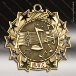 Medallion Ten Star Series Scholastic Music Medal School Scholastic Medals