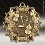 Medallion Ten Star Series Scholastic  Orchestra Medal School Scholastic Medals
