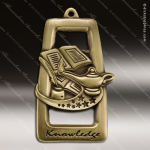 Medallion Star Blast Series Scholastic Lamp of Knowledge Medal School Scholastic Medals
