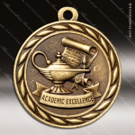 Medallion Sculpted Series Scholastic Academic Medal School Scholastic Medals