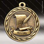Medallion Sculpted Series Scholastic Writing Medal School Scholastic Medals